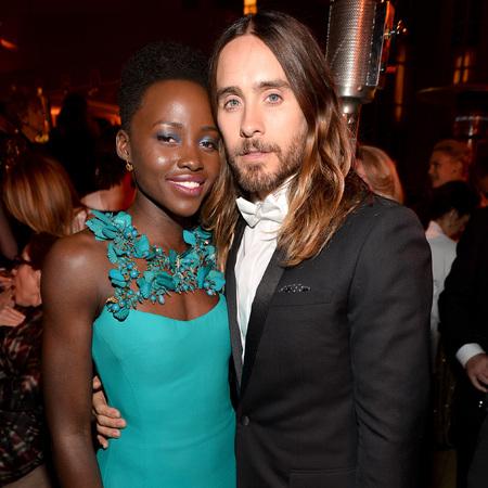 Jared Leto and Lupita Nyong'o - celebrity couple rumour - celebrity dating - stylish couples - oscars -celebrity news - handbag.com