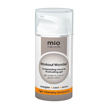 Mio workout wonder muscle - post workout muscle rub - gym bag handbag hero - beauty review - beauty products - handbag.com