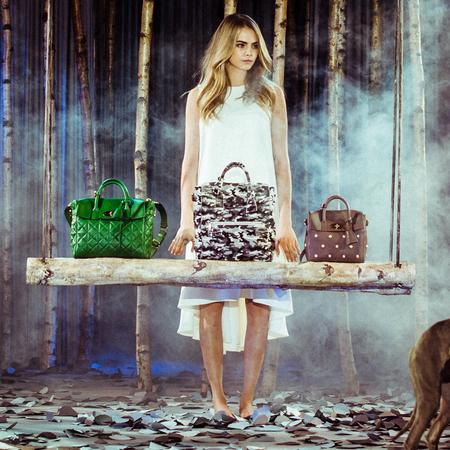 mulberry cara delevingne bag - london fashion week aw14 - handbag trends - handbag.com