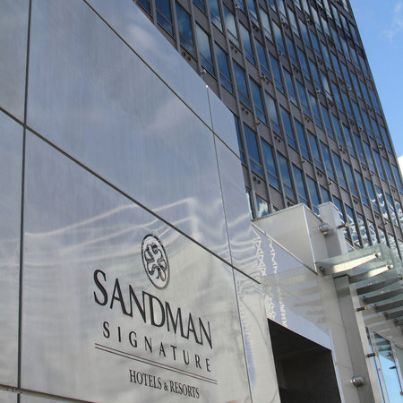 Newcastle's Sandman Signature Hotel review - be a footballing widow and WAG - uk hotel review - staycation ideas - exterior - travel reviews - handbag.com