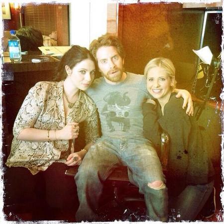 Sarah Michelle Gellar Buffy the Vampire Slayer reunion picture - day bag - handbag.com