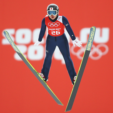 Women compete in ski jumping at Sochi 2014 Winter Olympics - women in sport - winter olympics - fitness news - sport news - gym bag - handbag.com