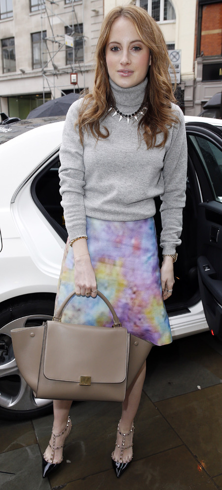 MIC's Rosie Fortescue's Celine Trapeze bag