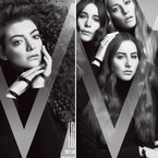 Lorde takes on Haim in the battle of the big hair