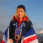 Lady hero: Snowboarder Jenny Jones makes history
