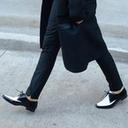 VB wearing flats is always big. But this is really big.