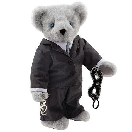 Fifty Shades of Grey teddy bear - Christian Grey teddy bear - Fifty Shades of Grey merchandise - film adaption - Fifty Shades of Grey movie - news - handbag.com