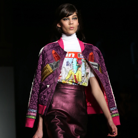 House of holland - bomber jackets - lfw aw13 trends - handbag.com