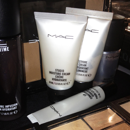 makeup used backstage at london fashion week - mac cosmetics studio moisture cream - skincare used by makeup artists - handbag.com