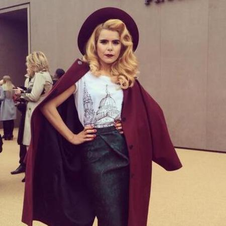 Paloma Faith burberry catwalk show - london fashion week 2014 - celebrity hair and beauty trend - fashion trends - celebrity news - handbag.com