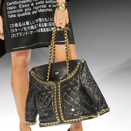 Moschino Biker Jacket bag