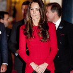 Kate Middleton and the little red dress trend