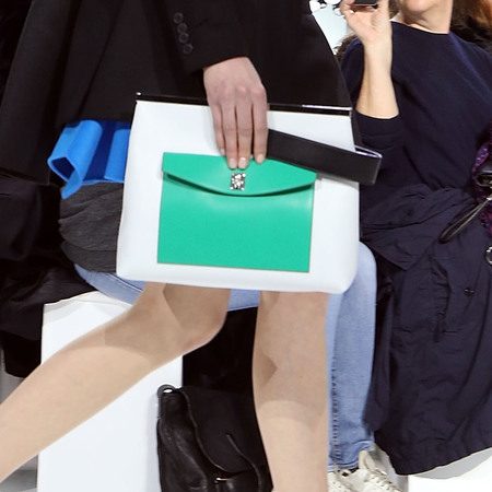 Dior's mini purse clutch bag