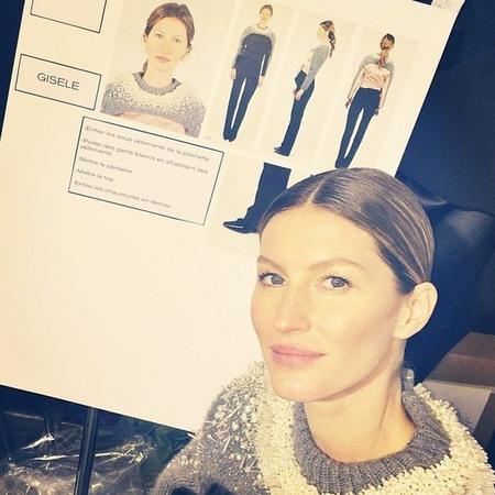 Gisele Bündchen walks at Balenciaga and shares wedding picture - Paris Fashion Week - supermodels - Alexander Wang - fashion and celebrity news - handbag.com