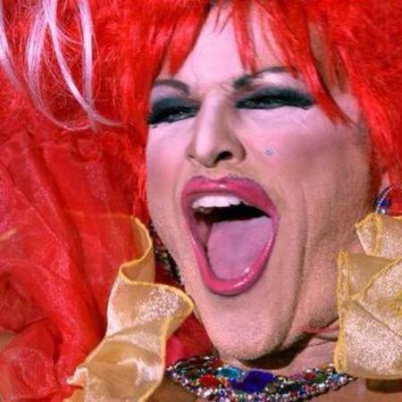 MArk wright in drag - party wright around the world - handbag.com
