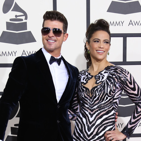Robin Thicke and paula Patton - divorce - reactions - handbag.com