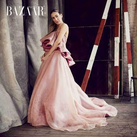 Sarah Jessica Parker for Harper's Bazaar - April Issue - Sarah Jessica Parker fashion interview - Sex and the City - pink dress - celebrity news - handbag.com
