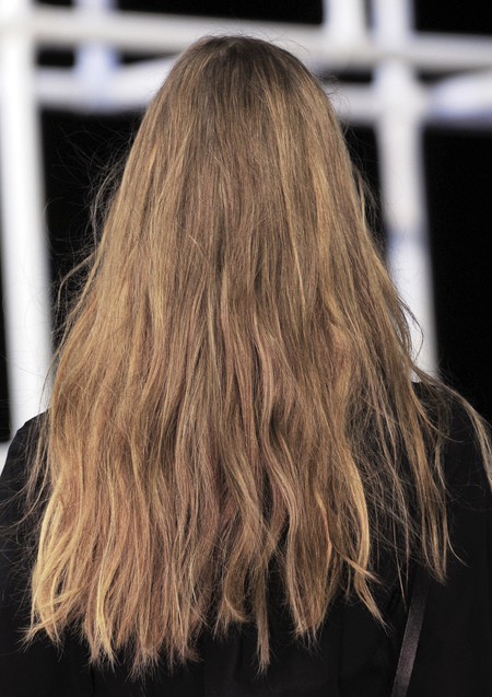 Alexander Wang how to do the new straight hair styling - handbag.com