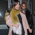 Kim Kardashian dodging flour bombs again?