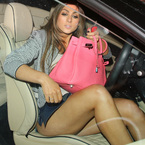 Luisa Zissman flashes more than her Birkin
