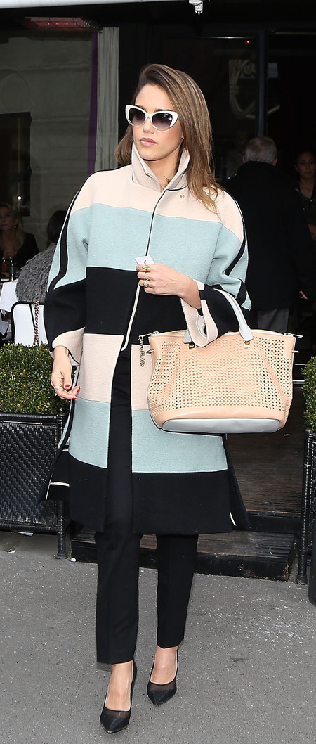 Celebrities carrying Chloe bags