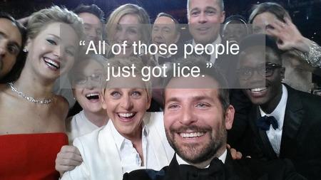 Oscars 2014 selfie - Bradley Cooper, Jennifer Lawrence, Ellen, Brad Pitt, Angelina Jolie, Jared Leto - Oscars photos - best Oscars tweets - celebrity news - handbag.com