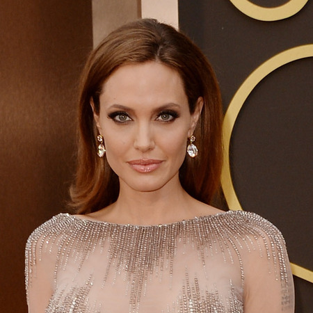 Angelina Jolie - Oscars 2014 red carpet fashion - celebrity fashion - red carpet dresses - fashion news - handbag.com