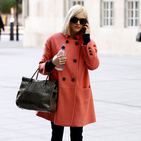 Fearne Cotton - mulberry handbag - bayswater - celebrity pictures - style - handbag.com