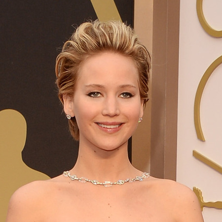 Jennifer Lawrence 80s hair