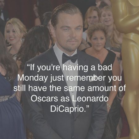 Leonardo DiCarprio at the Oscars - funniest tweets - Oscars photos - best Oscars tweets - celebrity news - handbag.com