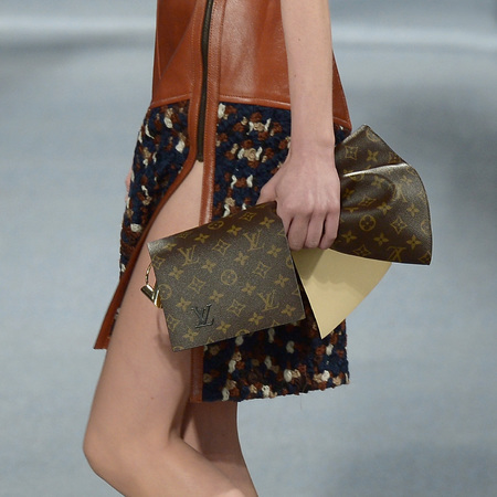 Louis Vuitton - monogramclutch bag - handbag - paris fashion week - autmun/winter 2014 - handbag.com