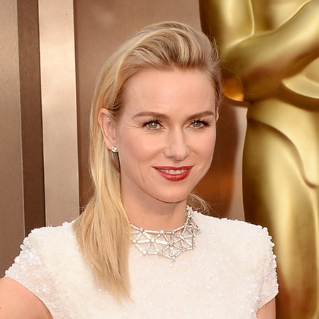 Naomi Watts does big 80s fringe