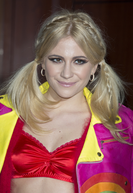 Pixie Lott wears bunches hairstyle - can you wear pigtails as an adult - hairstyles for long hair - hair debate - celebrity beauty trend - beauty news - handbag.com