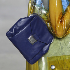 Miu Miu - paris fashion week - autumn winter 2014 - handbag collection - purple old lady bag - handbag.com