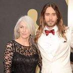 Jared Leto & his mum win best hair award