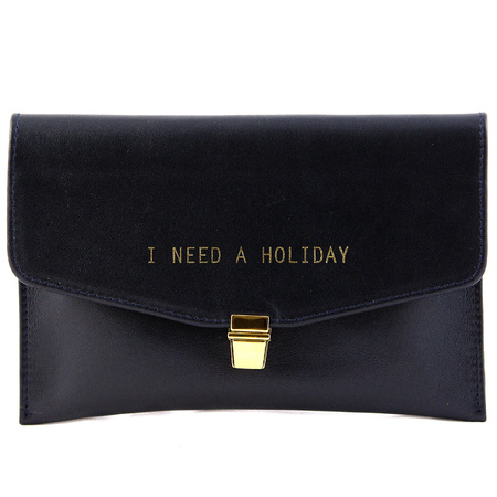 Betty Brice - I need a holiday leather clutch bag - navy envelope clutch - buy it - handbag.com