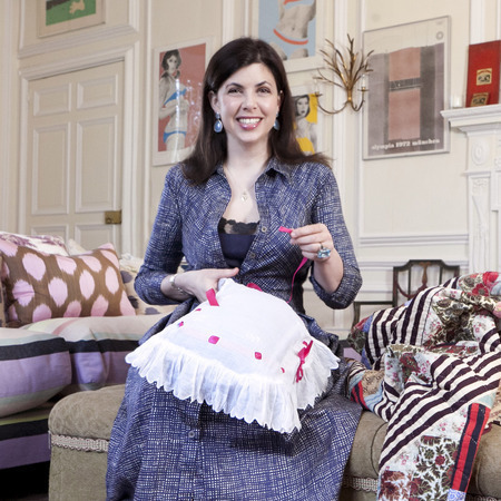 Kirstie alsopp for hobbycraft collaboration - DIY - interview - Q&A - shopping bag - handbag.com