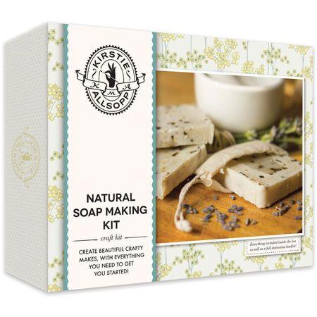 kirstie alsopp soap making kit for hobbycraft collaboration - DIY - interview - Q&A - shopping bag - handbag.com