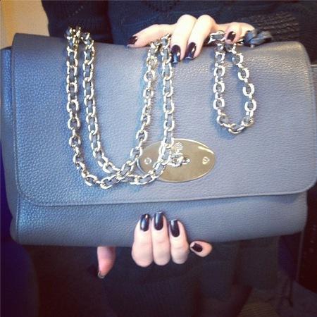mulberry lily bag - handbag spy street style - handbag.com