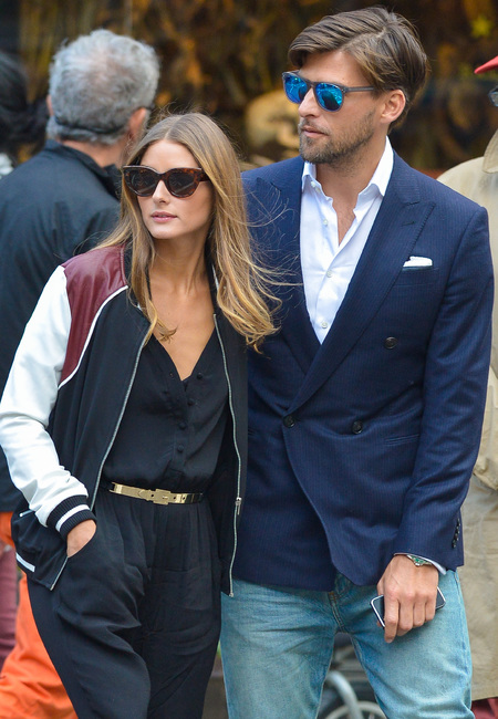 Olivia Palermo casual cool on date with Johannes Heubl