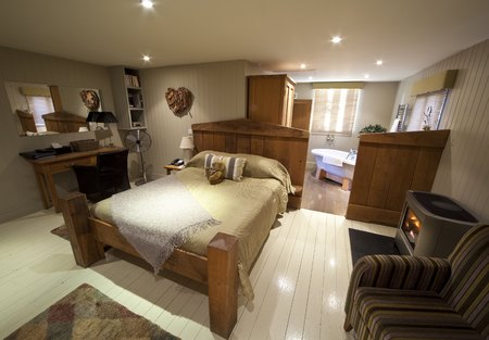 Titchwell Manor hotel review - Norfolk hotel review - travel hotel reviews - where to stay in Norfolk - travel ideas - feature - bedroom - handbag.com