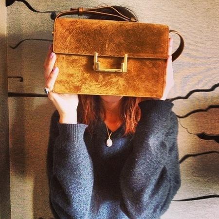 Alexa Chung's designer handbag collection