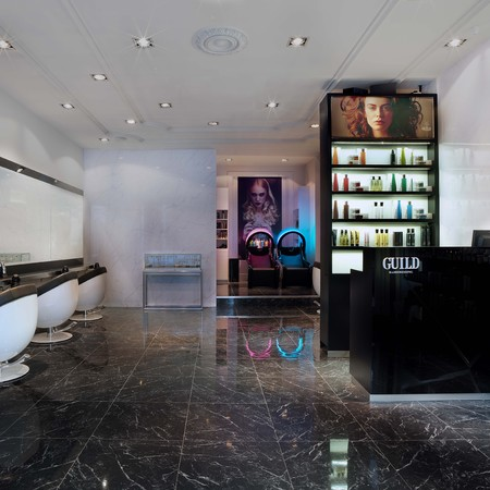 Guild Hairdressing on Kings Road - Chelsea blowdry - Made in Chelsea  - Victoria Baker Harber - review - beauty bag - handbag.com