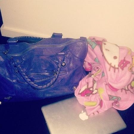 Helen Flanagan's Balenciaga bag