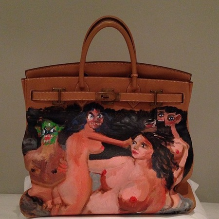 Kim Kardashian's designer handbag collection