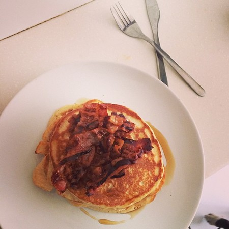 Millie Mackintosh - clean and lean pancakes - diet hangover breakfast - tasty tweet - handbag.com