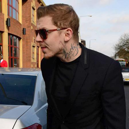Professor Green - drink driving celebrities - arriving in court - March 20th 2014 - celeb news - day bag - handbag.com