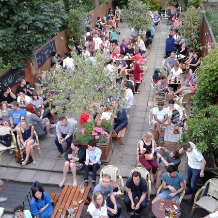 Pub garden - drinking in summer - summer activities - summertime - alcohol - handbag.com