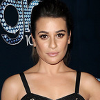 Lea Michele does the nude no makeup look