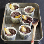 To die for pear & choc brownie muffin recipe